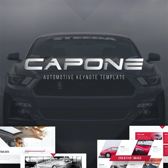 Capone Automotive Keynote Presentation Template