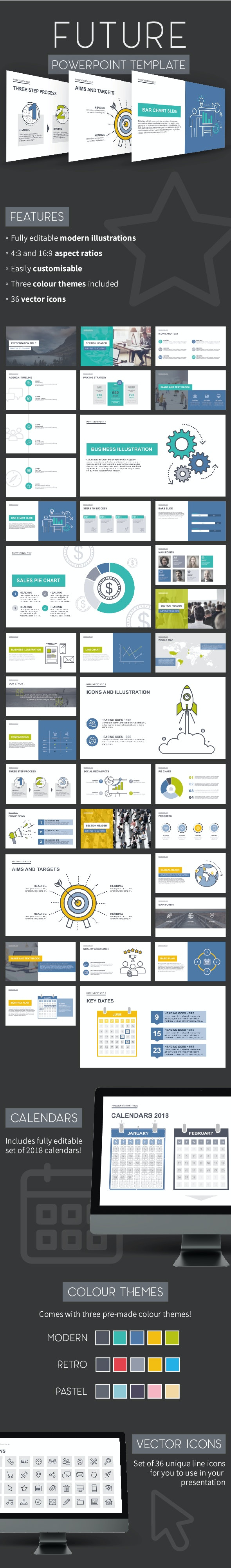 Future PowerPoint Template - Creative PowerPoint Templates