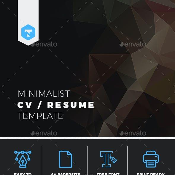Minimalist CV / Resume