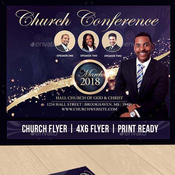 Giving Praise Church Flyer V2