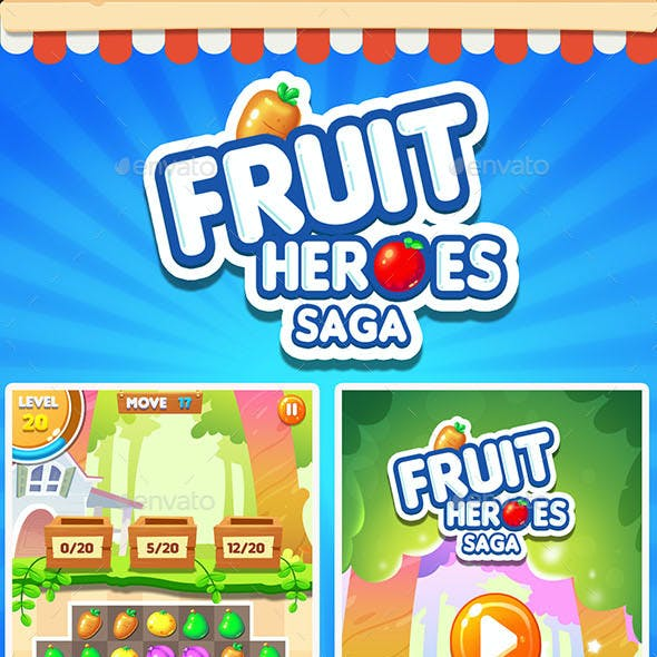 Fruits Game Assets
