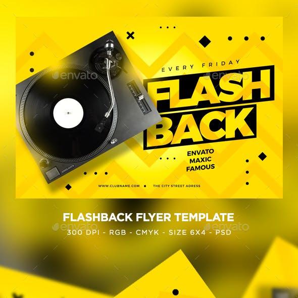 Flash Back Flyer