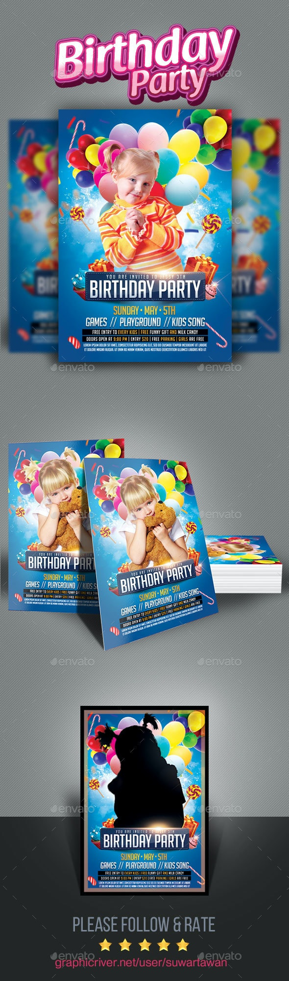 Kids Birthday Party - Clubs & Parties Events