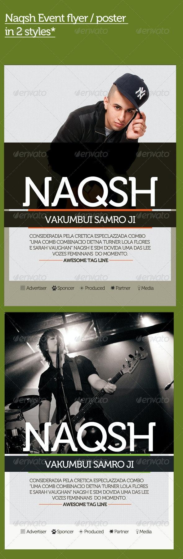 Naqsh Flyer - Clubs & Parties Events