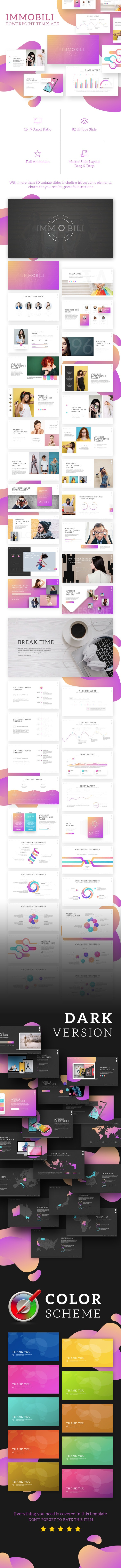 Immobili Powerpoint Template - Creative PowerPoint Templates
