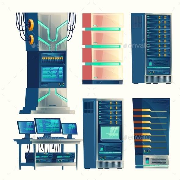 Vector Server Center, Control Room, Data Storage