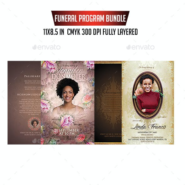 Funeral Program Bundle