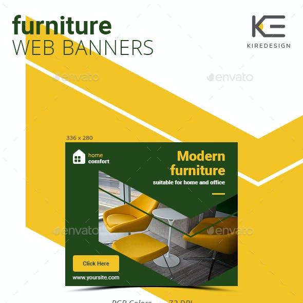 Furniture Salon Web Banners