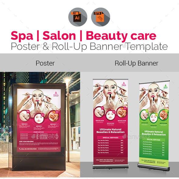Spa | Beauty Care | Salon Signage Bundle