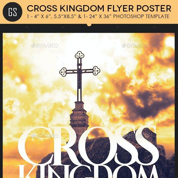 Cross Kingdom Flyer Poster Template