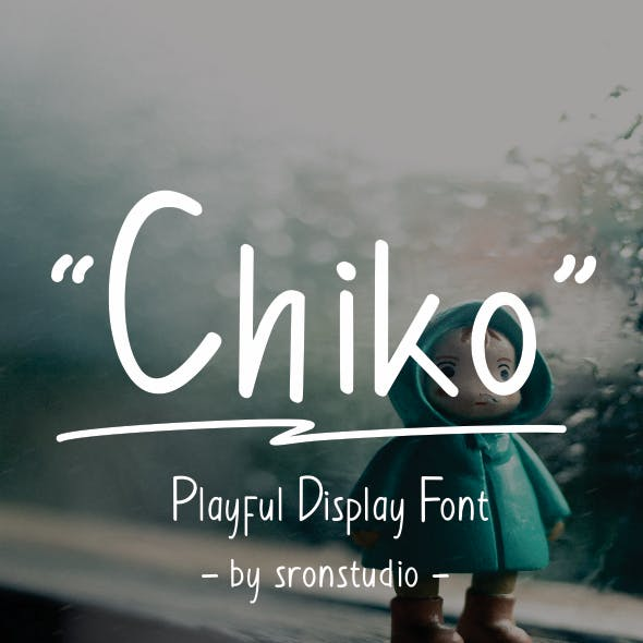 Chiko - Playful Display Font
