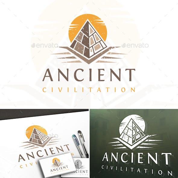Ancient Pyramid Logo
