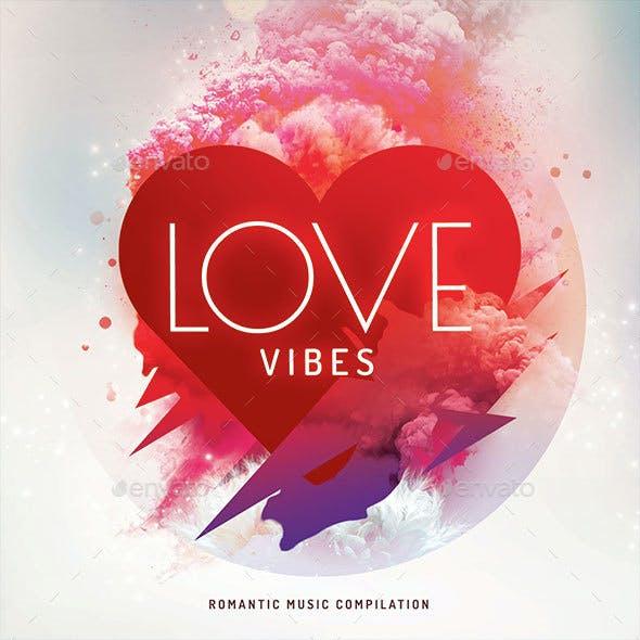 Love Vibes CD Cover Artwork