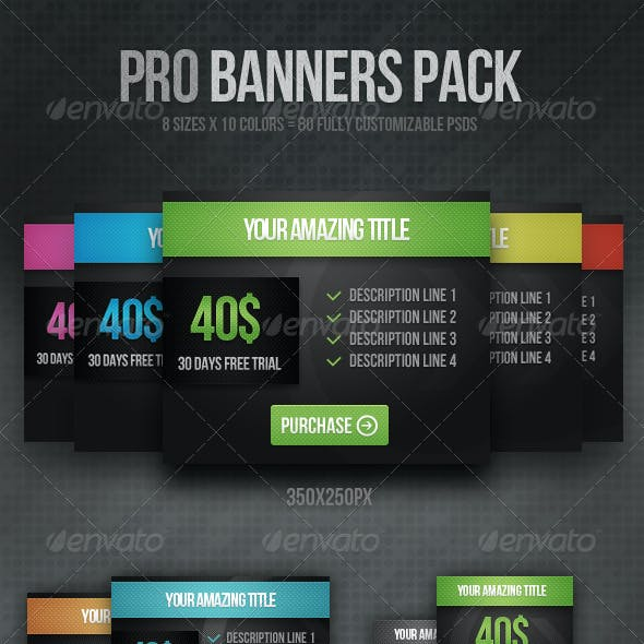 Pro Banners Pack