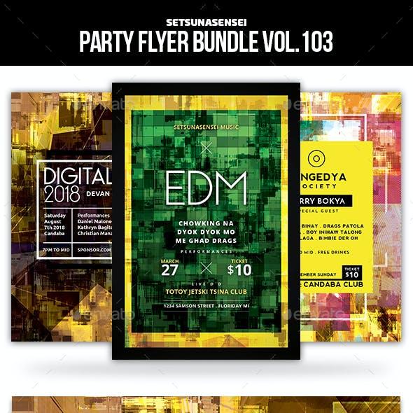 Party Flyer Bundle Vol.103