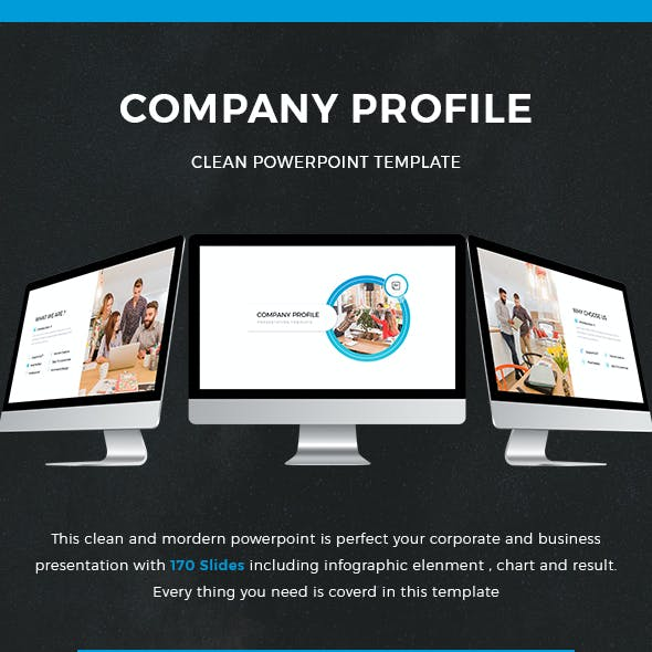 Company Profile Powerpoint Template 2018