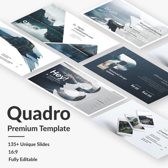 Quadro Premium Keynote Template