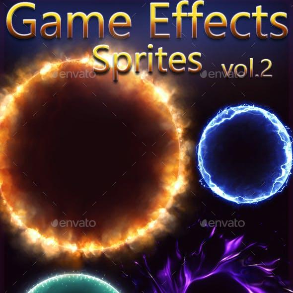 Game Effects Sprites Vol 2