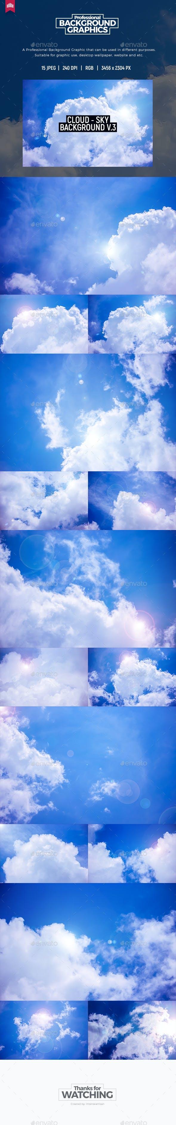 Cloud - Sky Background V.3