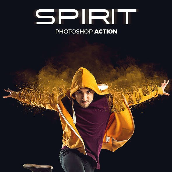 Spirit Photoshop Action