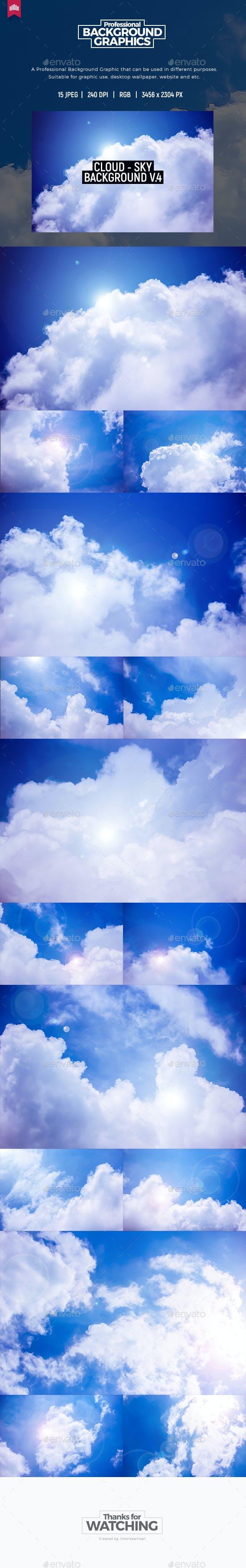 Cloud - Sky Background V.4