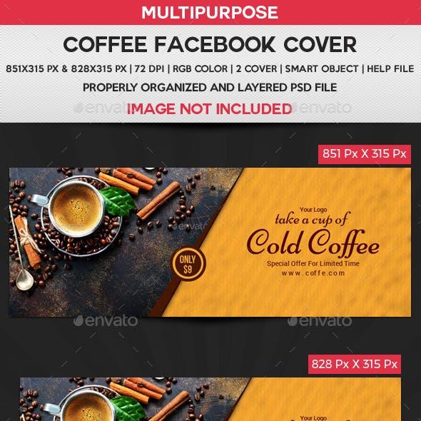 Coffee Facebook Cover