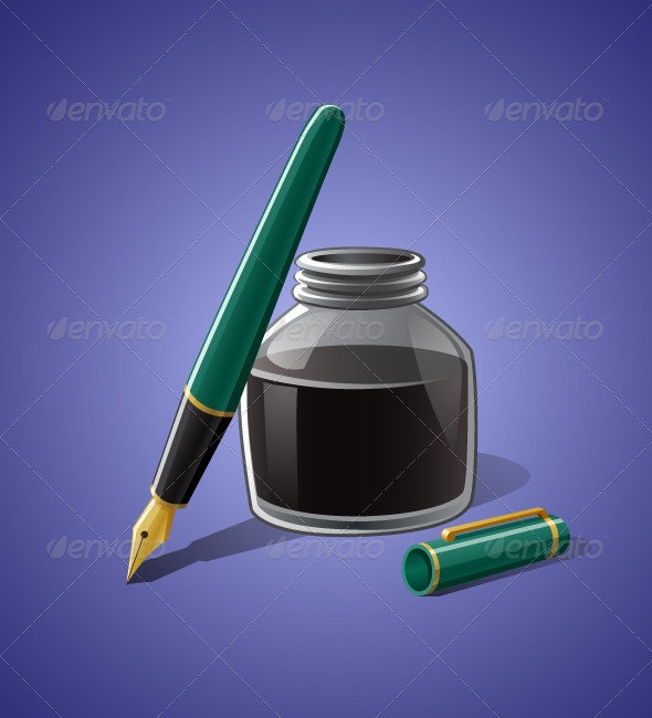 Fountain Pen  - Man-made Objects Objects