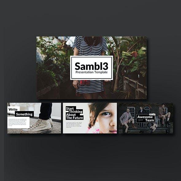 Sambl3 Multipurpose Presentation