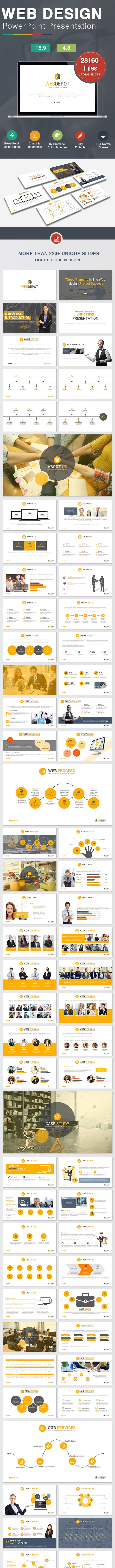 Web Design Powerpoint - Creative PowerPoint Templates