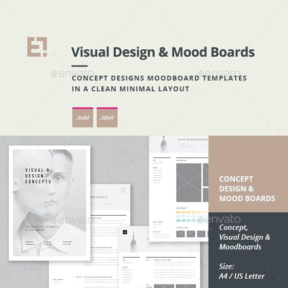 Concept Design Moodboard Templates