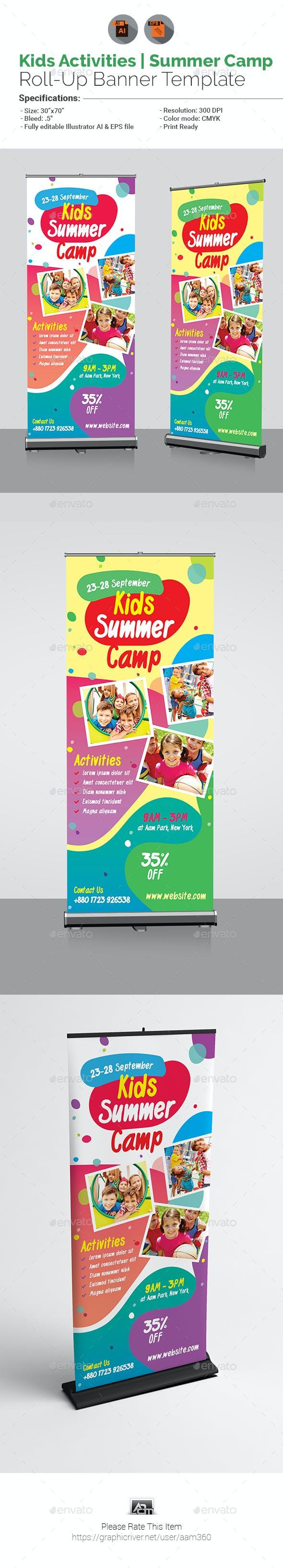 Kids Activities | Kids Summer Camp Roll-Up