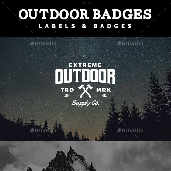 Adventure Labels and Badges Vol. 3