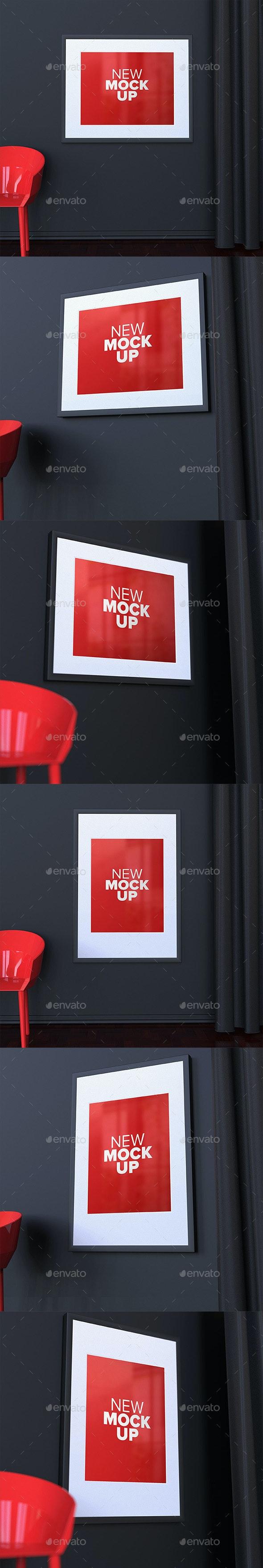 Frames Mock-Up - Posters Print