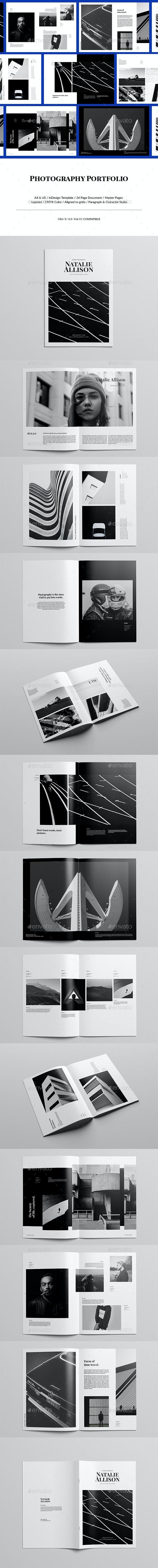 Minimal Photography Portfolio - Portfolio Brochures