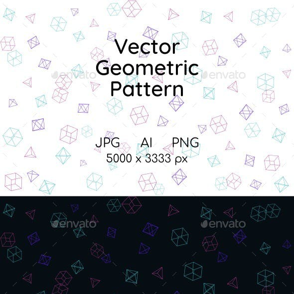 Vector Geometric Shapes Background