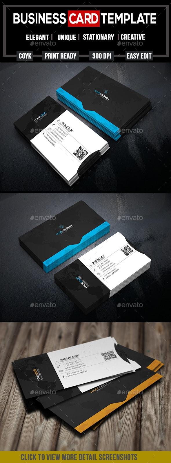 Creative Business Card v-5 - Creative Business Cards