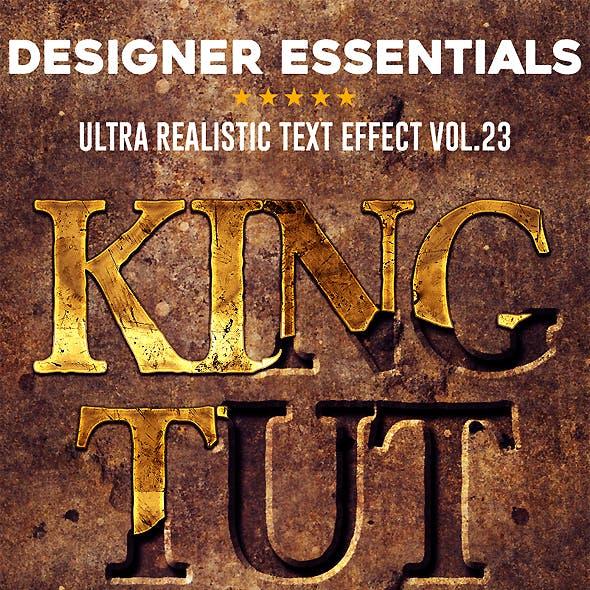Designer Essentials Ultra Realistic Text Effect Vol.23