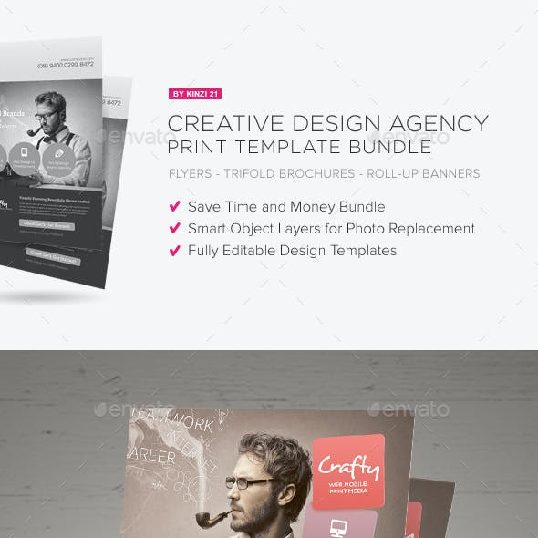 Creative Design Agency Print Bundle