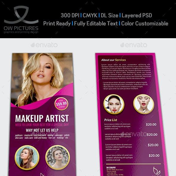 Beauty Center Flyer DL Size Template Vol.2