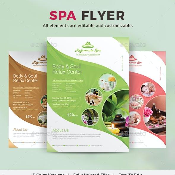 Spa Flyer
