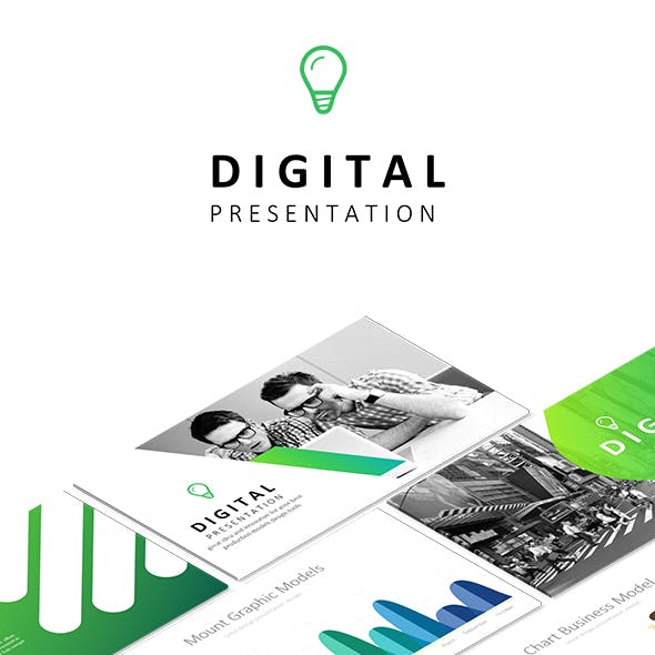 Digital - Google Slides Business Presentation