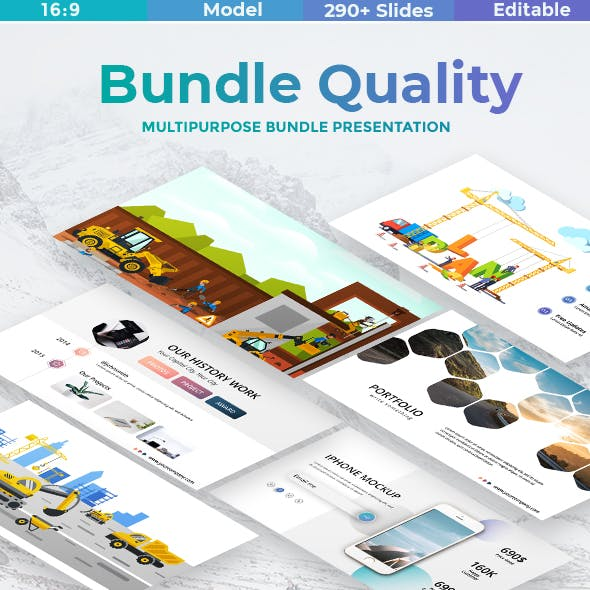 2 in 1 Bundle Quality Google SlideTemplate