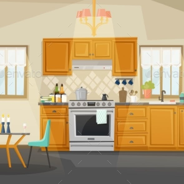 Kitchen Interior View