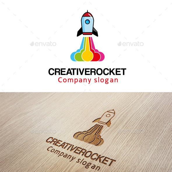 Creative Rocket Logo
