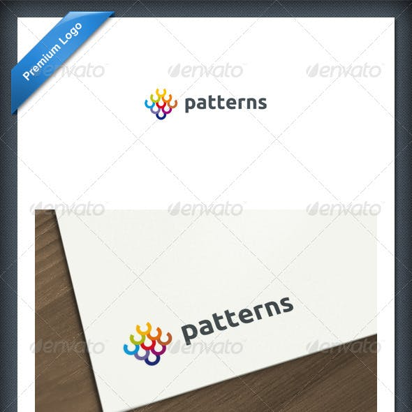 Abstract Patterns Logo Template