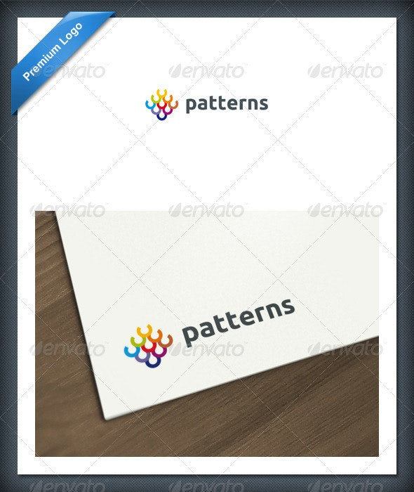 Abstract Patterns Logo Template - Abstract Logo Templates