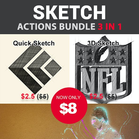 Sketch Bundle 3 in 1