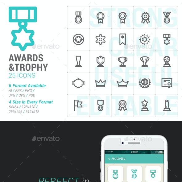 Award & Trophy Mini Icon