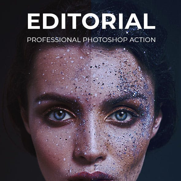 Editorial Professional Photoshop Action