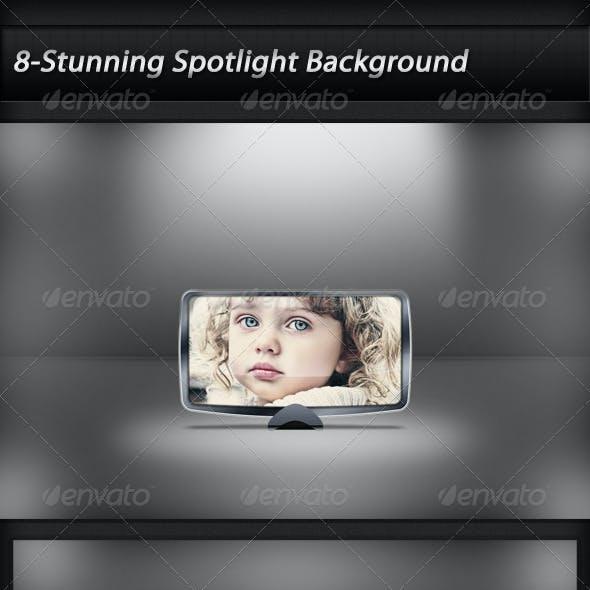 Eligant Floor Spotlight Background